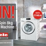 Make sure you enter our latest competition to #WIN a @Miele_GB 1600 Spin 8kg #WashingMachine worth £1149! Follow us @HughesDirect & RT 🍀🎁 https://t.co/lv1drUGUK9
