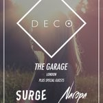#LONDON GIG: FRI 21 OCT at @TheGarageHQ @DecoBandUK @naropaband @_OfficialSurge #SOTNGigs https://t.co/H1YZrDSOBA