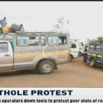 Matatu operators down tools to protest poor state of roads in Iten #CitizenLiveAt1 https://t.co/vOir3nKS8p
