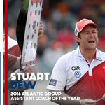 The 2016 @atlanticgroup Assistant Coach of the Year goes to Stuart Dew of the @sydneyswans. https://t.co/u88WiIIHBM