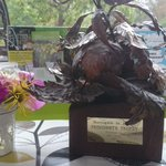 Brilliant news. We have won Harrogate in bloom presidents trophy #charitytuesday @sculptor642 https://t.co/GM5uZ7Fypx