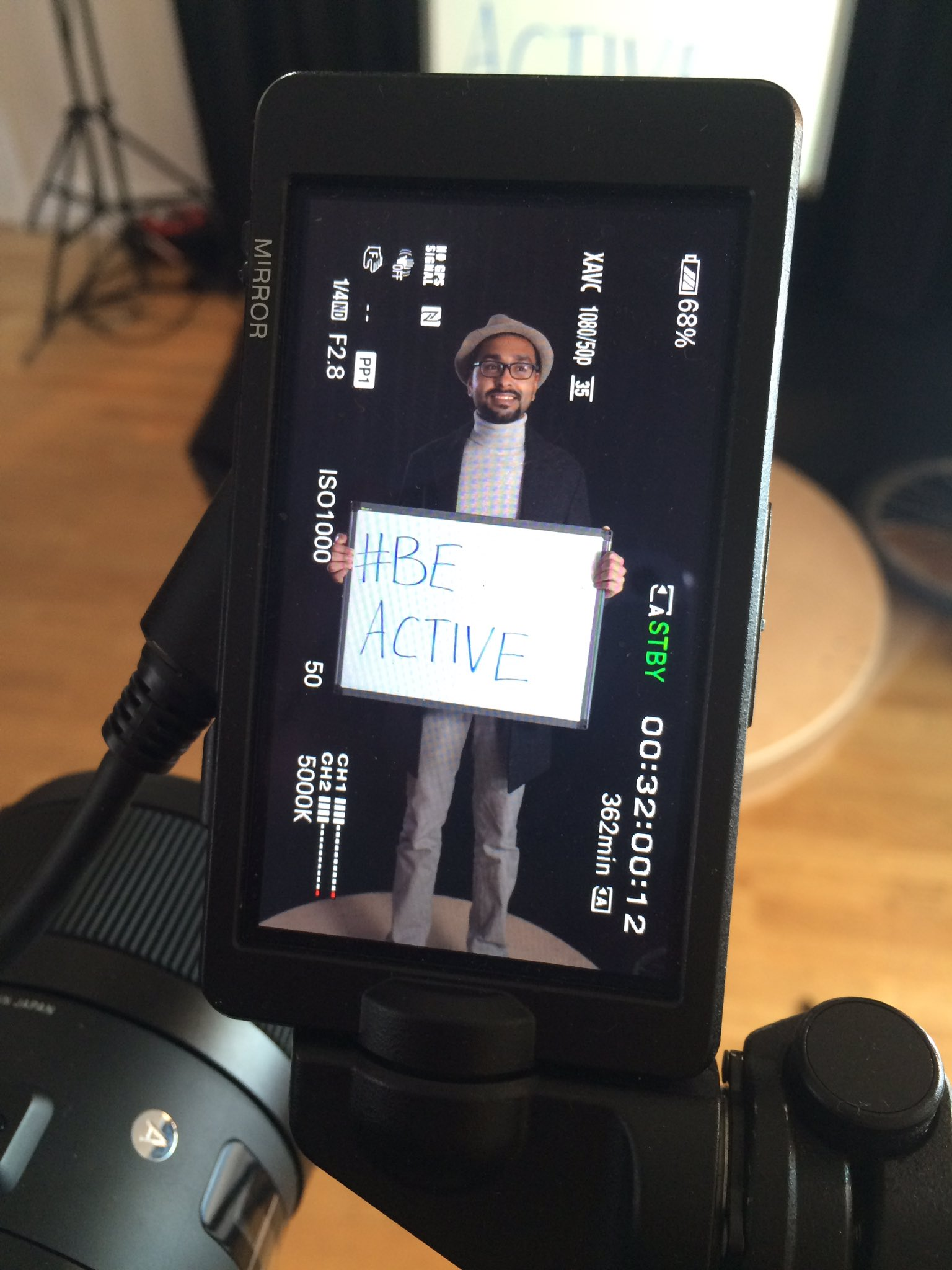 Huge thanks to Nitish from @LAMPadvocacy for taking part in #filming for #WMHDleicester @leicester_news @wotspace with @imagenovamedia https://t.co/iMeaRvv41H