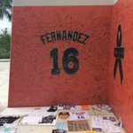 Growing memorial outside Marlins Park. #RIPJoseFernandez https://t.co/ouVD0ToYjW