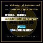 🎃 #ALDUBBlessedPair  TISOY MENGGAY are more than just a cute tandem;they are—rather exceptionally!—the BlessedPair 💑 https://t.co/0XHSTr9lBh