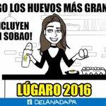 Un regalito para los fans de @AlexandraLugaro ! Porque sus huevos incluyen el desayuno completo! #DeLaNadaPR https://t.co/R04i9AQYAO