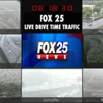 An ugly commute this morning, leave at least 30 minutes early to deal with the rainy weather @fox25news https://t.co/vF0ng7aUig