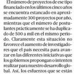 No esperemos al ministerio para apoyar la ciencia @latercera https://t.co/SAyOgqiLLH