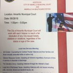 The city of Amarillo municipal court and the VA hospital are hosting a Veteran Service Day Docket Wednesday the 28th https://t.co/KCU3OPeK0r