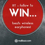 Want to #win FREE Beats earphones? Of course you do 😎 RT & F to enter our #competition. #realbuzzBeats https://t.co/9Srw4DrFYi