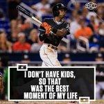After Dee Gordons leadoff HR, he let the world know how much honoring José meant to him. (via @BBTN) https://t.co/ldAkMWF90d