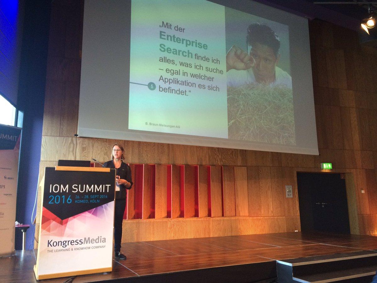 Miriam Sch�nberg (@MiriamSchonberg): #ioms16 Suche in allen rel ...