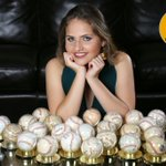 Ana Patricia Pichardo Llenas designada madrina para la temporada 2016-17. 💛💐  #MadrinaAguilucha #LaLeñaTaAquí https://t.co/zBQI8AHB2u