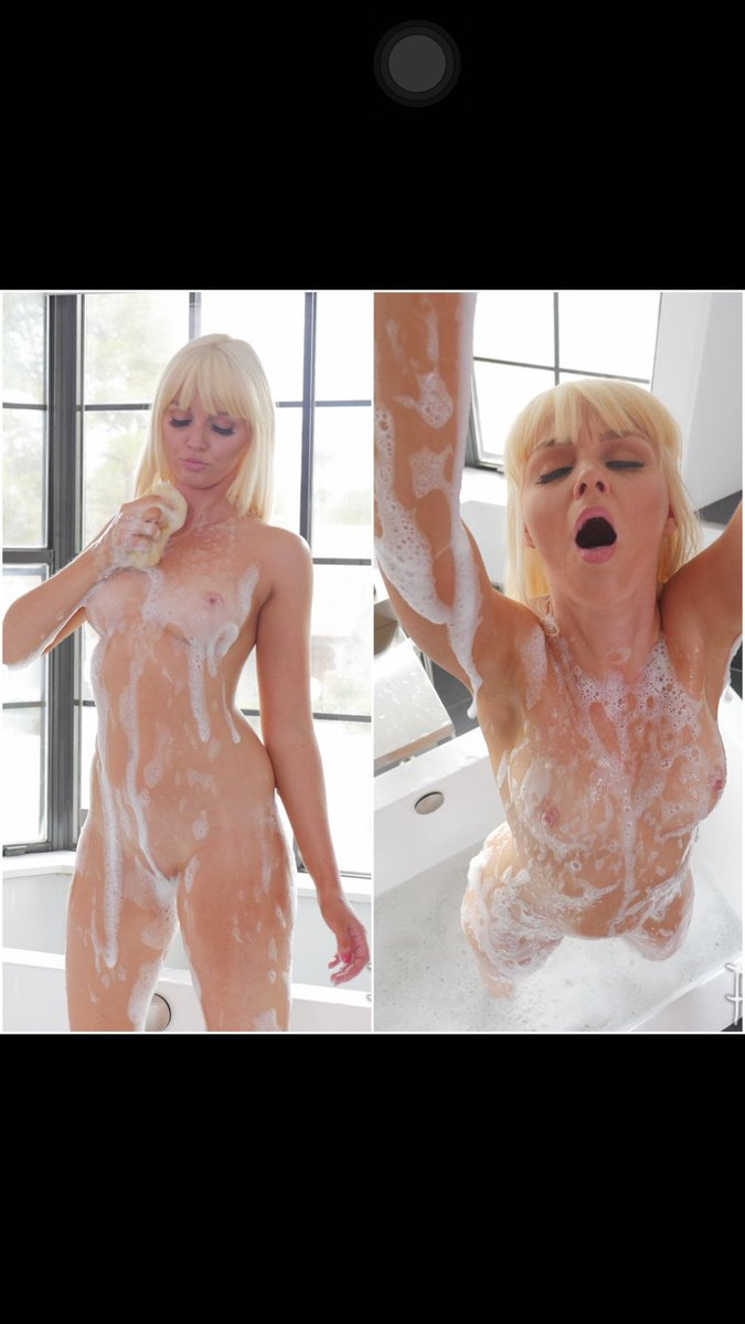 Good morning everyone! Start your day off right with a sexy bath with blonde Marie! From