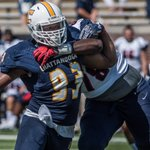 .@GoMocsFB @OYea_KD Earns National Player of the Week Honors - https://t.co/gFePSuj79m #GoMocs https://t.co/DsZOEAc4jw