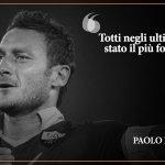 Le parole di elogio per #Totti da parte del capocannoniere del Mondiale del 1982, Paolo #Rossi  #Totti40 https://t.co/qwaEJq7IIG