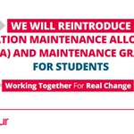 .@AngelaRayner: Labour will reintroduce EMA and maintenance grants for students. RT if you're with us ↓ #Lab16 https://t.co/yU3iQOEKTy