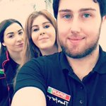 Weve had a lot of fun meeting the students at this years #Aberystwyth Freshers Fair. Do you like our SPAR staff selfie? #nofilter? :-) https://t.co/z3VV7D9zxo