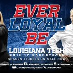 Renewal deadline for @LATechHoops & @LATechWBB is this Saturday (Oct. 1)! Contact @LATechTickets to renew/purchase today! #EverLoyalBe https://t.co/63jQJD0rjk