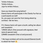 Terlalu rindu, terlalu rindu @EleenaHarris Guess whos coming to join as participants 😏 #zombieattack2016 https://t.co/DJViOEsxfU