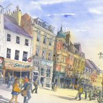 Central Newcastle - The Bigg Market by Roy Francis Kirton https://t.co/SfLDrbCi9f #Art #Newcastle https://t.co/LHsaoCc29u