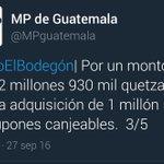 #CasoElBodegon • Según @MPguatemala esto defraudó gobierno de Partido Patriota en el #PlanHambreCero @RBCNoticiasGT https://t.co/jblKw0zOwB