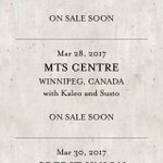 THE LUMINEERS ARE COMING TO WPG IM SHOOK https://t.co/OCOU6prjIA