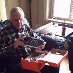Grandpa gets a pair of light up shoes #FunnyDem https://t.co/hwc35lYa5t