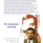 V Kamniku se bo v petek odvil simpozij o Francetu Tomšiču #pridi #socialniteden https://t.co/UM55vjBGwk https://t.co/UU4UfTCK4t