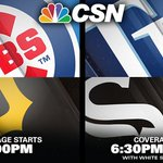 Both the @Cubs and @WhiteSox were victorious last night. CSN brings you BOTH again TONIGHT! Find your channel @ https://t.co/K2QA5DSyVO https://t.co/l4hh00yaU2
