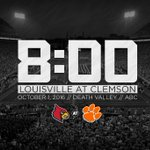 Five days away from another top-5 showdown in Death Valley. Tune in at 8 p.m. #BeatClemson https://t.co/9NscRiVIZZ