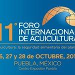 11° Foro Internacional de Acuicultura del 26 al 28 octubre en el Centro Expositor Puebla. @ConvencionesPue #Puebla https://t.co/ytj7TF4RGC