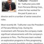 @AEXEQB Mr. Todhunter brings over 35 years experience in corp finance, business consulting & marketing working w/ private and public company https://t.co/nXPCsYq17G