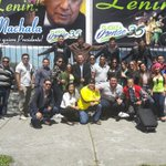 #BienvenidoLenin #Ecuador te recibe con mucho cariño #ElOroPresente #LeninTeQueremos #LeninPresidente  @fuerzaorense https://t.co/2e2x6xmrMP