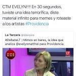Qué vergüenza la @segegob , quien del @GobiernodeChile dará las explicaciones y disculpas a @evelynmatthei ? https://t.co/N9vGr1pFyJ