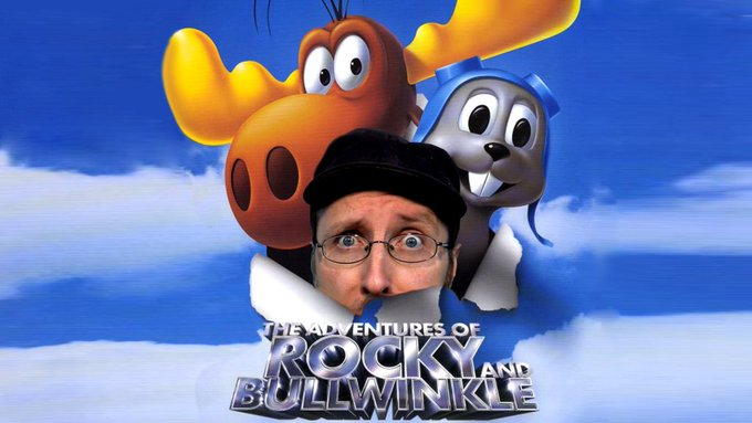 RT @ChannelAwesome: Adventures of Rocky and Bullwinkle - Nostalgia Critic - https://t.co/PBC7t1BqqN now on CA. https://t.co/zjIQ27JUqT