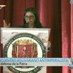 #AHORA | Canciller @DrodriguezVen: La inmunidad parlamentaria no es para violentar la constitución. https://t.co/ueVLDd0cFP