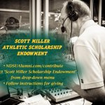 Our dear friend Scott Miller gets inducted into the Bison Athletic Hall of Fame this week. Please consider a gift to help cement his legacy. https://t.co/t10uBYmxzC