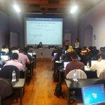 Segundo día en el taller de análisis de ítems #PISA para el desarrollo, Antigua Guatemala. @MineducGT https://t.co/6exOvNT7Ht