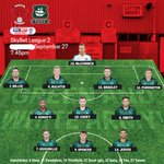 How the lads line up this evening #pafc #LEYARG https://t.co/CH7CVlIXzG