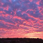 Amazing sunset over Stoke this evening. #nofilter https://t.co/zKFRDuPrx2