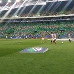 Trwa rozgrzewka legionistów na Estadio Jose Alvalade #SCPLEG #UCL https://t.co/5vNmT2mFl5