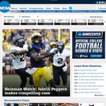 Currently on the homepage of https://t.co/ncX7rvI8TF... Jabrill Peppers.   #GoBlue » https://t.co/jstF6vofKA https://t.co/fvwTjU7Vj4