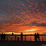 Amazing Liverpool sunset across the Mersey tonight @LivEchonews #sunset #Liverpool https://t.co/lj1SxEtab2