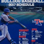 BREAKING | LA Tech Announces 2017 Baseball Schedule  Read: https://t.co/P6L0YaHzxJ https://t.co/fKCdCiwVKg