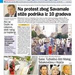 Čitajte u sutrašnjem Danasu  Podrška protestu zbog Savamale  Čime su građani Srbije zaslužili najskuplje gorivo https://t.co/ZYtlgwIiRa