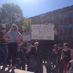 Protesting for what is right at Ball State 😂😂 #Harambe @BsuFessions https://t.co/mjc0P47f2G