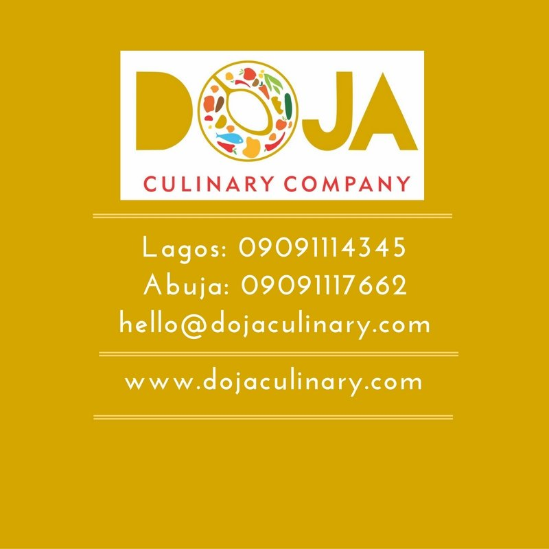 Catering and Food Deliveries! Now in Lagos and Abuja! Pls follow and RT!! @DojaCulinary https://t.co/7GKChd1bNM