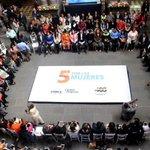 Un gusto acompañar al @AlcaldeBanck en la presentación de la iniciativa #5xLasMujeres. https://t.co/3TYwcaDNhj