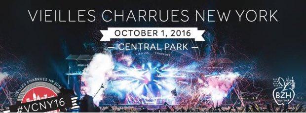 Vieilles Charrues music festival is coming to Central Park - Les @Charrues  débarquen ...