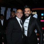 . @RanveerOfficial was adjudged the Actor of the Year at #GQMenOfTheYear last night in #Mumbai https://t.co/EkSQ8sPnDK